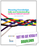 Weaving Knowledge, Skills and Understanding into the New National Curriculum graphic