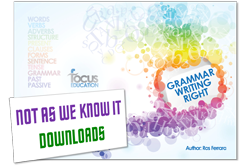 Grammar Writing Right graphic