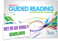 The Place of Guided Reading in the New National Curriculum graphic