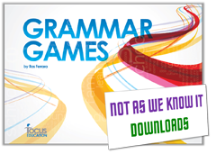 Grammar Games graphic
