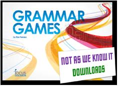 Grammar Games graphic