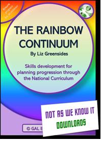 The Rainbow Continuum graphic