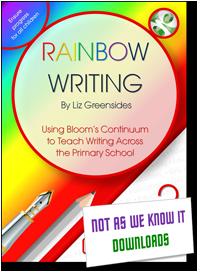 Rainbow Writing graphic