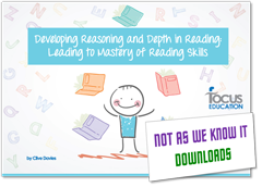 Developing Reasoning and Depth in Reading graphic