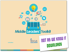 Middle Leaders' Toolkit graphic