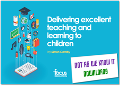 Delivering Excellent Teaching and Learning to Children graphic
